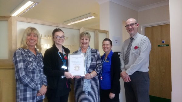 Billinghay Medical Practice receives Quality Award