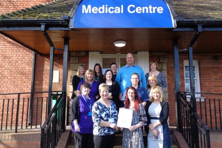 St Johns Medical Centre awarded Carers Quality Award