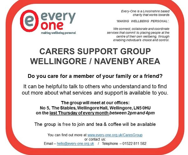 Carers Group – Wellingore & Navenby Area