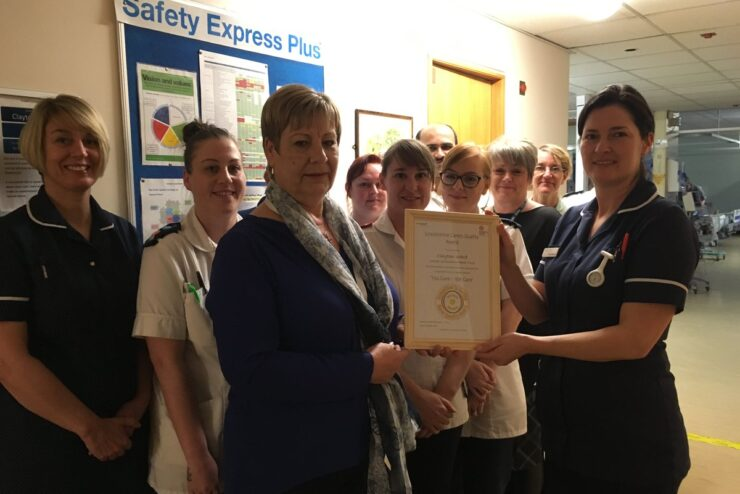 Clayton Ward Awarded Carers Quality Award