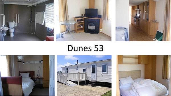 Short Break Caravan: Dunes 53