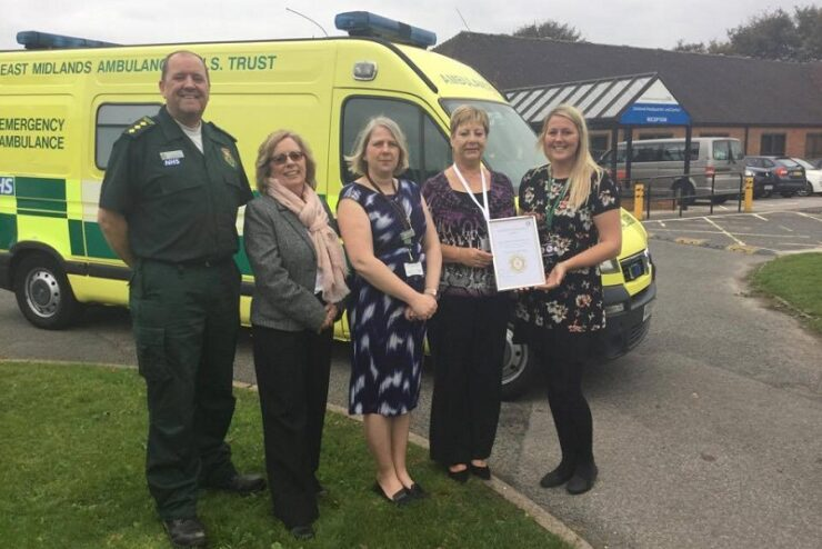East Midlands Ambulance Service receives Carers Quality Award