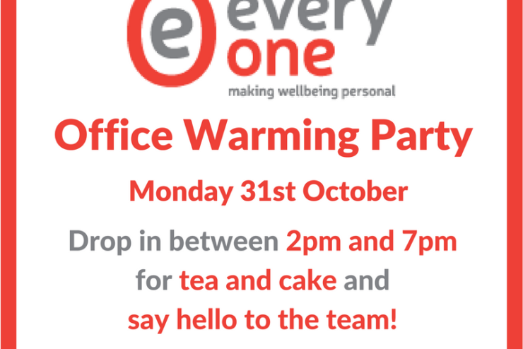 Office Warming – Drop-in and see us!