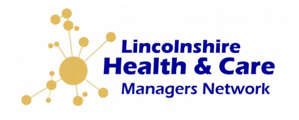 Lincolnshire Health & Care Managers Network