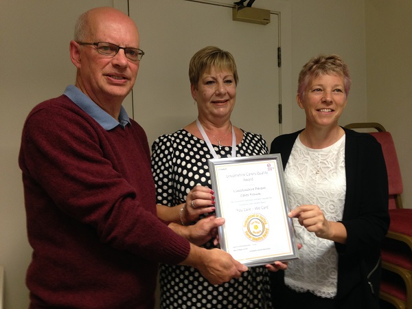 Award for Parent Carer Forum