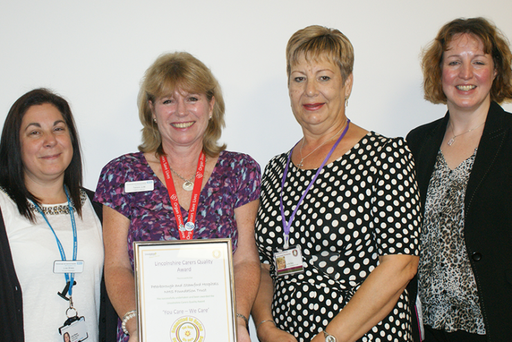 Peterborough & Stamford NHS Trust: Carers Quality Award