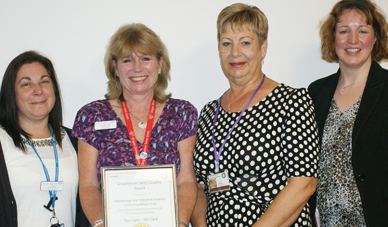 Peterborough & Stamford NHS Trust: Carers Quality Award