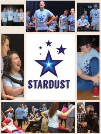 Stardust musical performance group: image montage