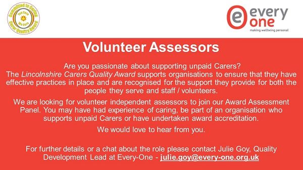 Volunteer Assessors needed