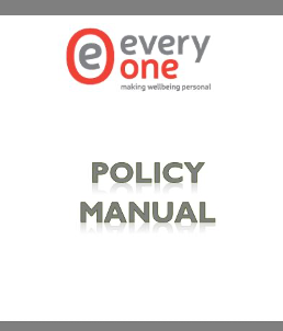 Image: front cover of Policy Manual