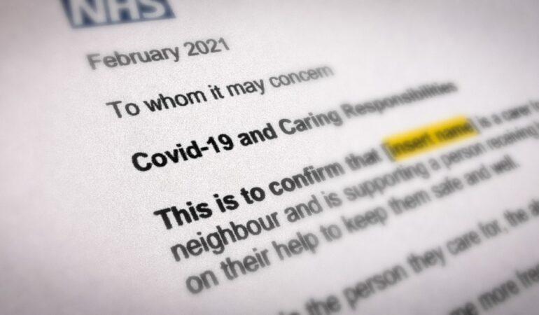 National Carer Support Letter